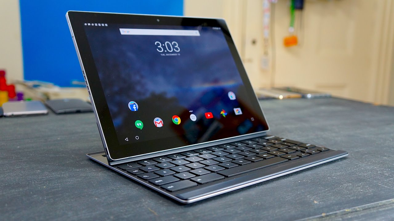 24 Hours with the Google Pixel C | Pocketnow - YouTube