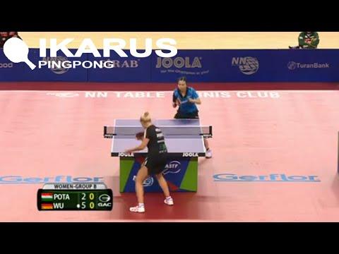 Póta Georgina - Wu Jiaduo 2015 Table Tennis Europe Top 16