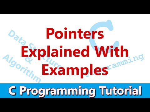 C Programming Tutorial #13 Pointers in C   Explained with Example