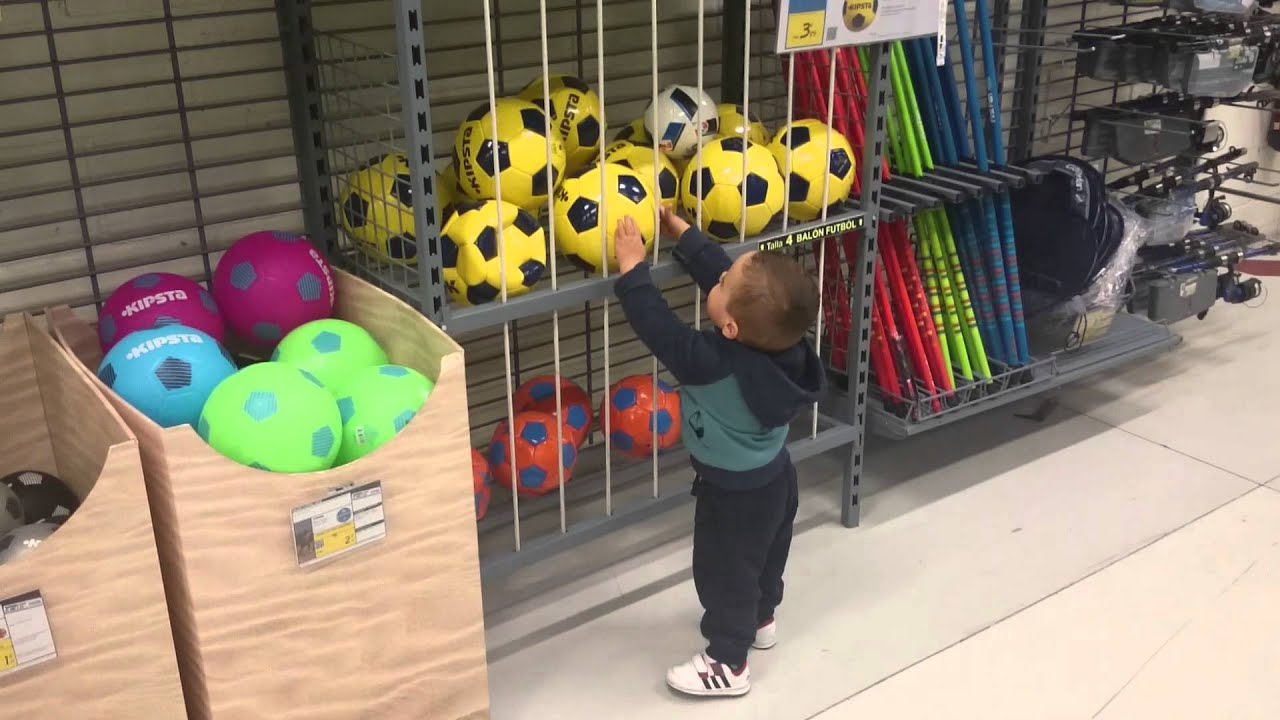9cea927d7d90d Decathlon y los balones - YouTube