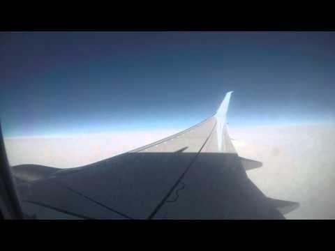 Innsbruck to Dublin Landing 4K Timelapse