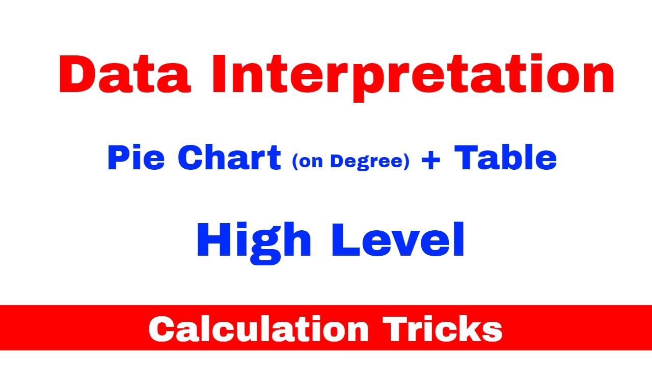 Data interpretation tricks of calculation pie table for sbi data interpretation tricks of calculation pie table for sbi po bank po cat part 21 nvjuhfo Choice Image