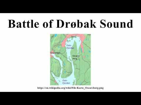 Battle of Drøbak Sound