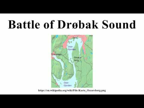 Battle of Drøbak Sound