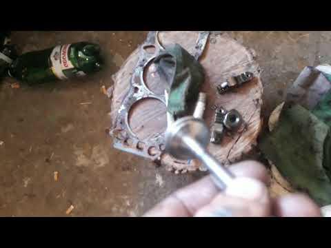 Ford Scorpio 2 0 OHC Ремонт прогоревшего клапана