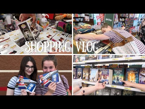 SHOPPING VLOG | Target, Barnes & Noble, & More!