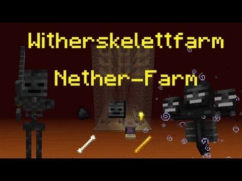Minecraft-Tutorial: Witherskelett-Farm / Nether-Farm (PMT061) [DE] [HD]