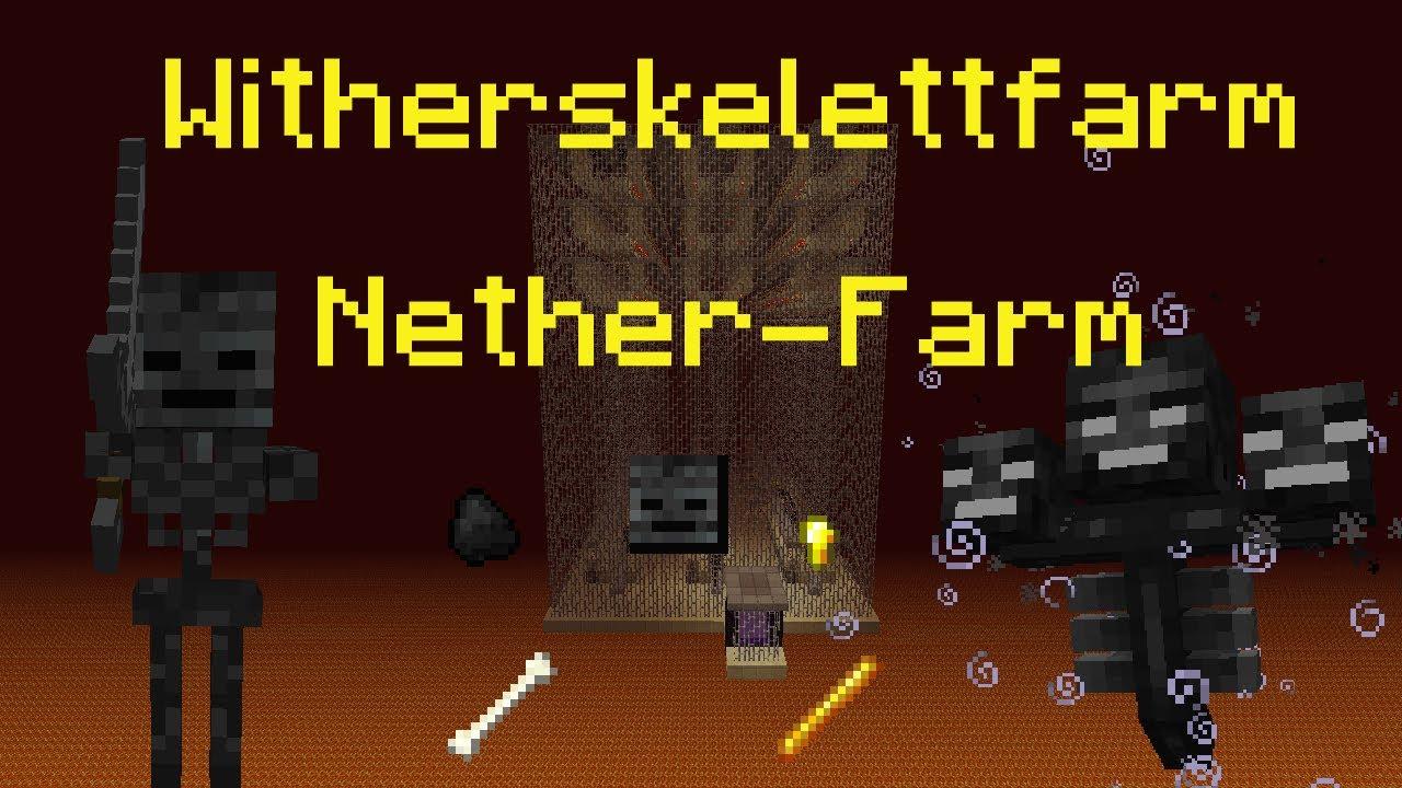 Minecraft-Tutorial: Witherskelett-Farm / Nether-Farm (PMT061