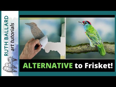 An alternative to FRISKET? A review and tutorial of an inexpensive way to mask your artwork!