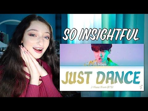 BTS 방탄소년단 J-HOPE - Trivia 起 Just Dance Lyrics Reaction!!