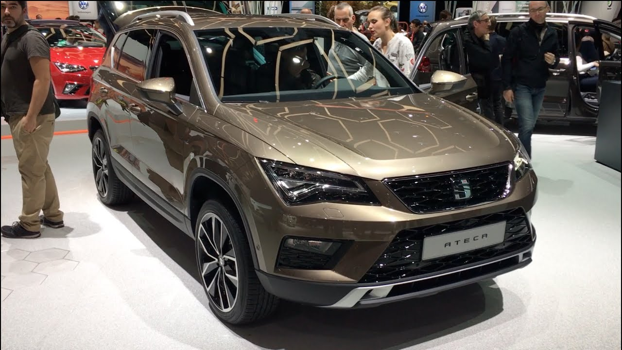seat ateca 2017 in detail review walkaround interior exterior youtube. Black Bedroom Furniture Sets. Home Design Ideas