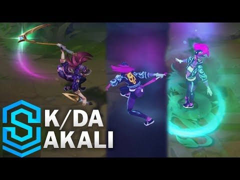K/DA Akali Skin Spotlight - League of Legends