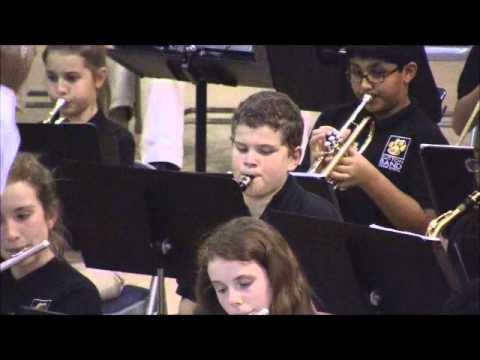Sutton Middle School Band Fall Concert-Song 1