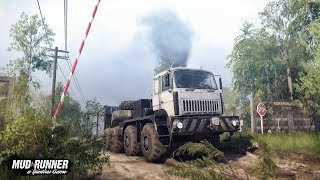 Spintires MudRunner The Valley PC Gameplay