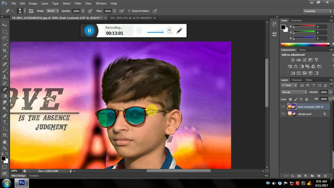 HAIR Style Change And Effects YouTube - Hair style change photo effect