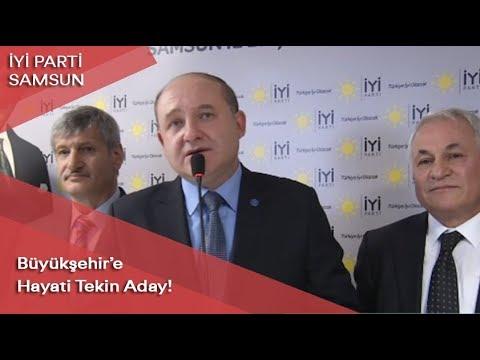 İYİ Parti'nin Samsun adayı Hayati Tekin