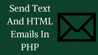 How To Send Text And HTML Email In PHP