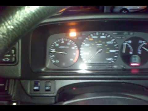 1991 Honda Prelude Speedometer Problem Youtube