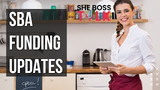 SBA STIMULUS FUNDING UPDATE & NEWS REPORT | MAY 8 | SHE BOSS TALK