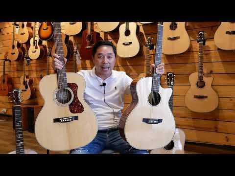 """""""Acoustic Guitar 101"""" EP.3 กีต้าร์โปร่งมีกี่ทรง อะไรบ้าง?"""