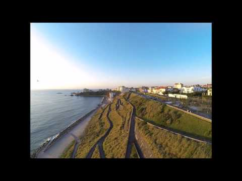 phantom 2 cote des basques flight biarritz