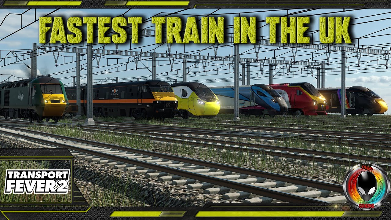 The Fastest Train In The UK, Transport Fever 2 Race Series