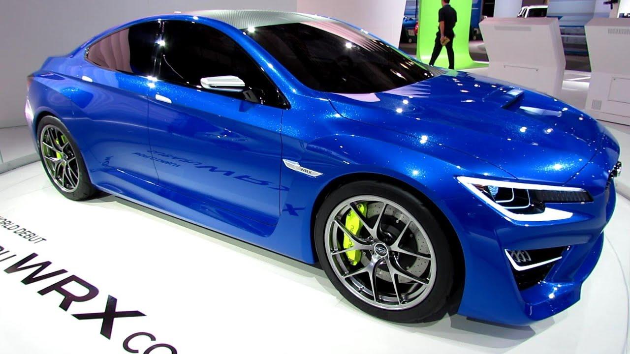 2015 Subaru Wrx Concept Exterior Walkaround 2013 New