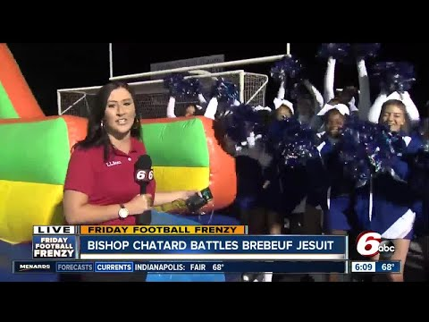 Friday Football Frenzy pep rally at Bishop Chatard High School