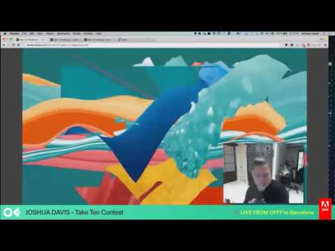 Adobe At OFFF 2016 | Take Ten Contest With Josh Davis | Adobe Creative Cloud