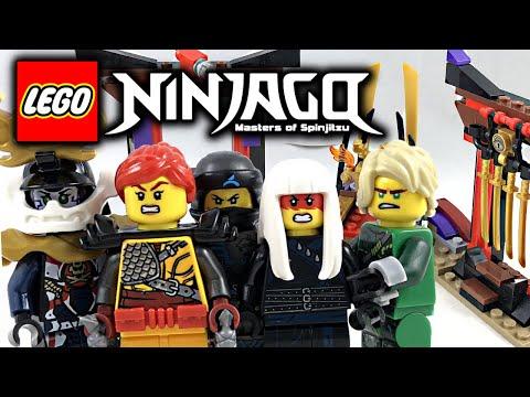 LEGO Ninjago Throne Room Showdown review! 2018 set 70651!