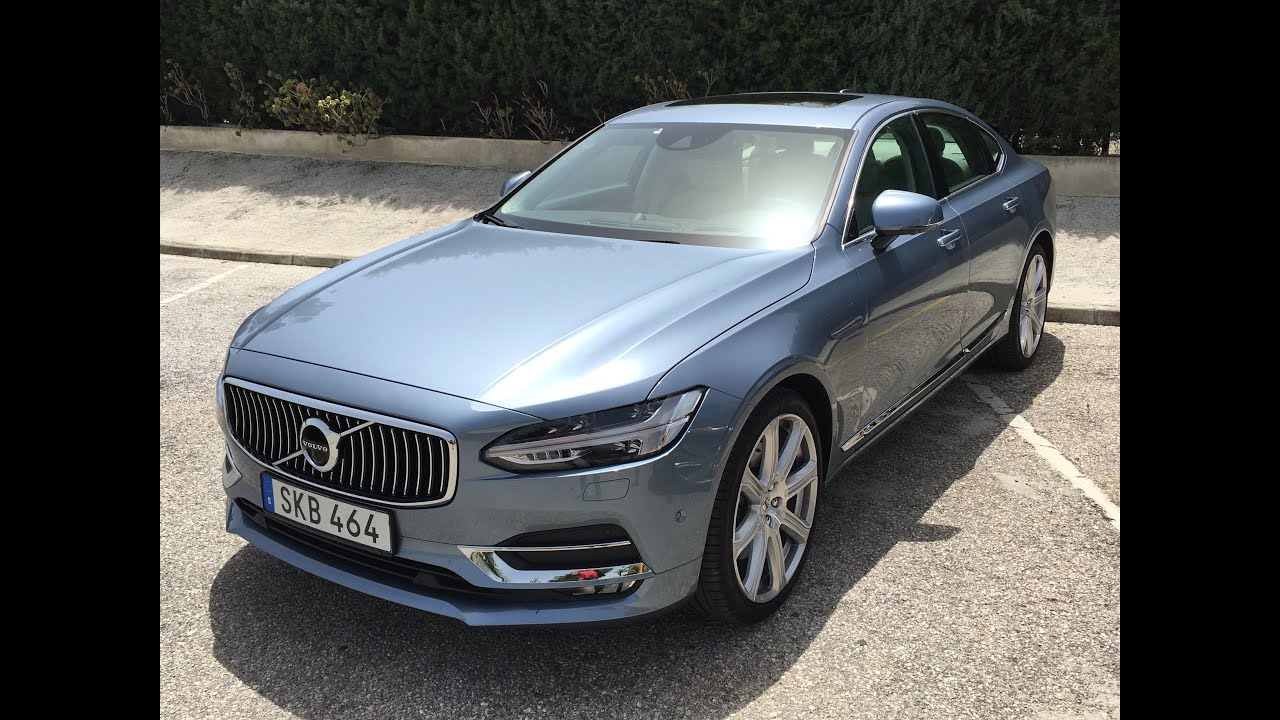2017 Volvo S90: 5 Things You Should Know - YouTube