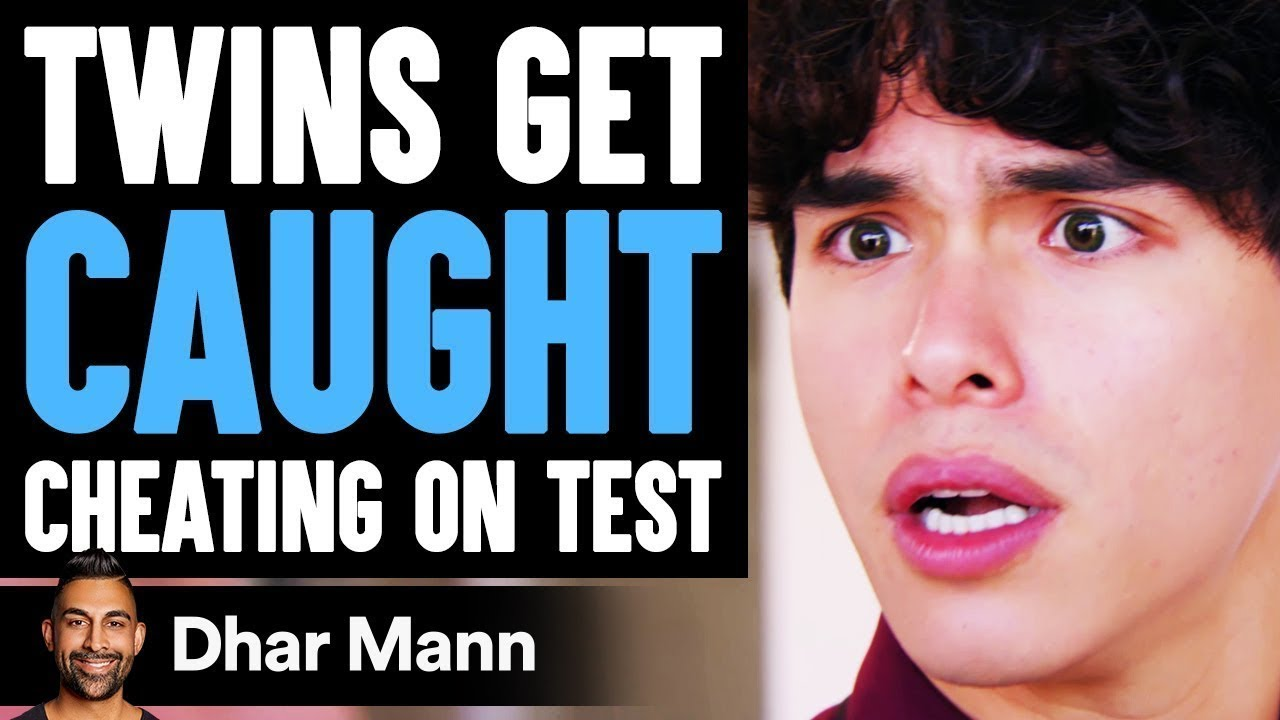 Twins Get CAUGHT CHEATING on TEST ft. @Stokes Twins  | Dhar Mann