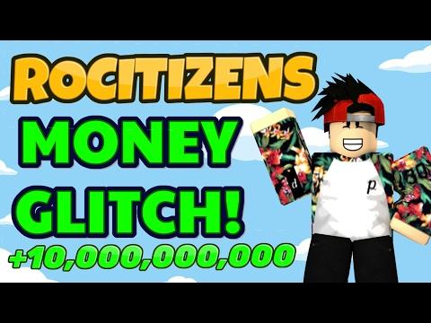 Rocitizens: BEST MONEY GLITCH! [WORKING]...