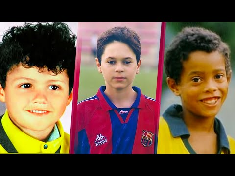 Thumbnail: 30 Footballers When They Were Kids ● How Many Can You Guess?