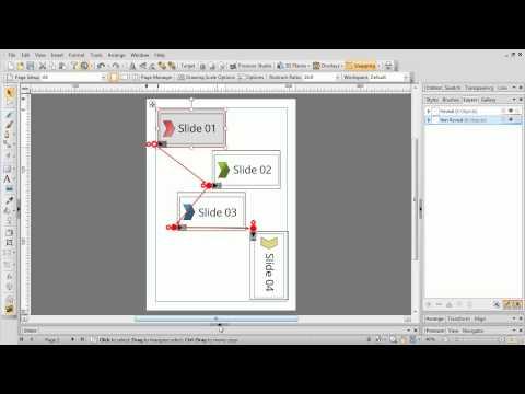 Serif DrawPlus X8 Tutorial - Presentations with the Rostrum Camera
