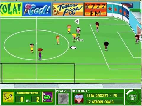 Beautiful Lets Play: Backyard Soccer PC 1998  Part 6 Welcome To Le Off The Wall  Indoor Invitational!