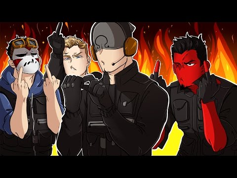 Rainbow Six: Siege | OHM-V-P! (w/ H2O Delirious, Bryce, & Ohmwrecker) R6 Velvet Shell