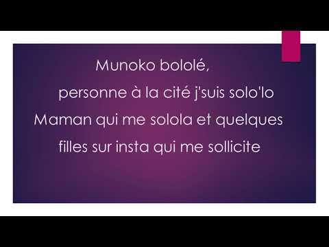 KeBlack tantine (lyrics)