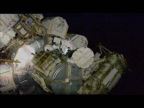 Power Play Spacewalks Aboard the Space Station on This Week @NASA  October 11, 2019
