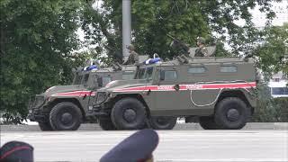 Парад Победы в Екатеринбурге. Военная техника и авиация