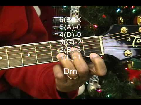 The Twelve Days Of Christmas Guitar Chord TABS Tutorial ...