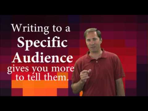 How to Write: Foundational Concepts: Audience