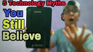 5 Technology Myths You Still Believe || Technical Chaitanya