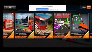 Modern bus simulator new parking games - bus games - Android playgame screenshot 1
