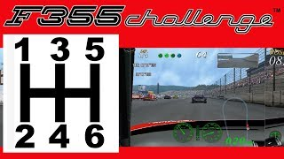 Mapping a 6-Speed Shifter & Clutch Pedal in F355 Challenge (Arcade) in Demul