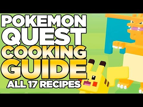 Pokemon Quest Recipes Guide - All 17 Recipes in Game | Austin John Plays