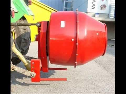 betonmischer m rtelmischer f r traktor trecker vom. Black Bedroom Furniture Sets. Home Design Ideas