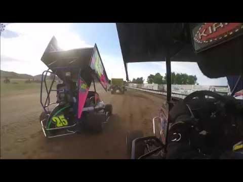 Thunderhill Speedway 125/250 Heat 1 6/18/16