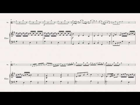 Telemann, G.P. - Concerto in G, TWV 51:G9 - for Viola & Piano (dumb-it-down.com)