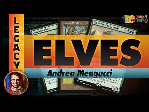 Channel Mengucci - Legacy Elves (Deck Tech & Matches)